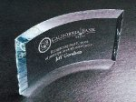 Curved Beveled Achievement Awards