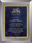 Smoked Glass Plaque Fire and Safety Awards
